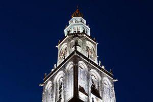 Martinitoren bij Avond (2) von Frenk Volt