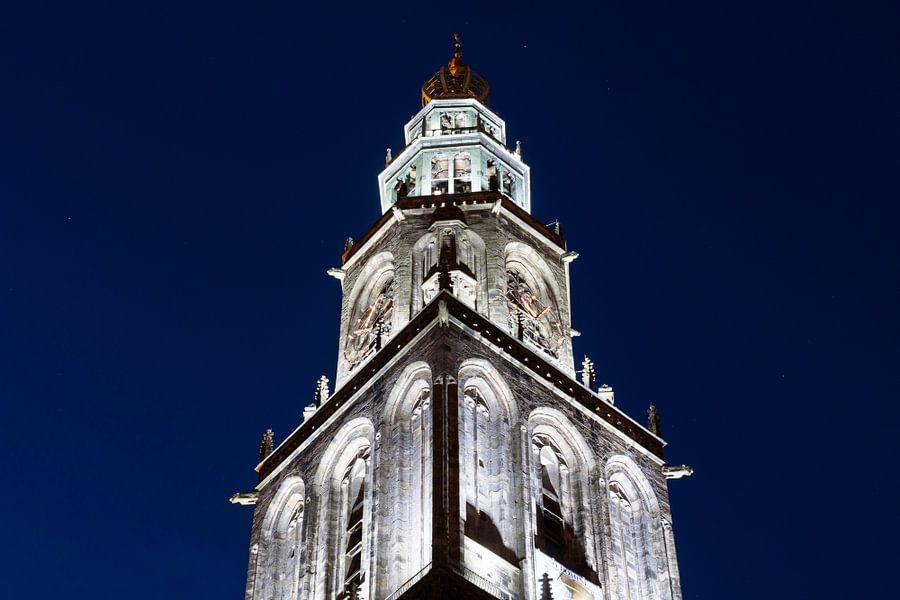 Martinitoren bij Avond (2)