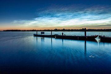 leuchtenden Nachtwolken in die Niederlande von Eugene Winthagen