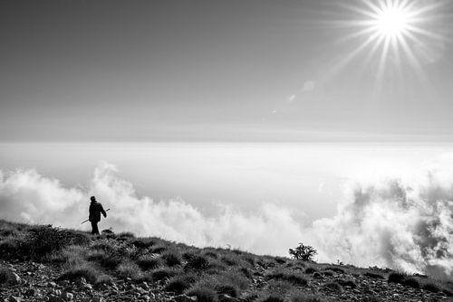 Schaapherder boven de wolken