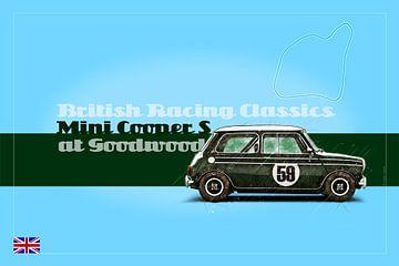 Mini Cooper S at Goodwood von Theodor Decker