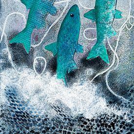Hareng bleu sur Lida Bruinen