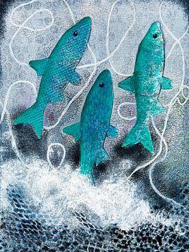 Blau Hering von Lida Bruinen