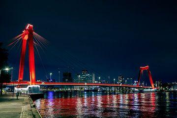 Willemsbrug Rotterdam von Hans Vos Fotografie