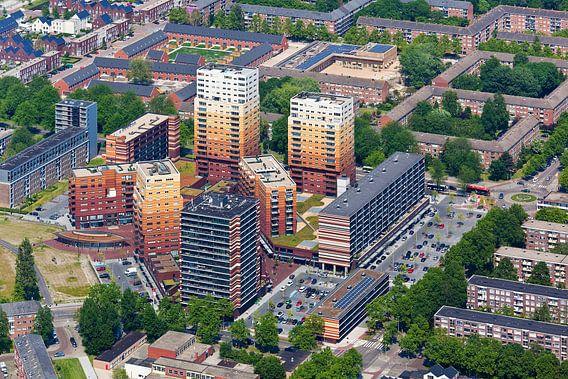 Photo aérienne Waterlandplein à Amsterdam