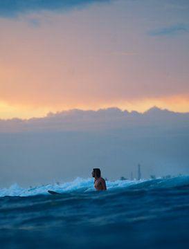 golden hour surf van Ward Jonkman