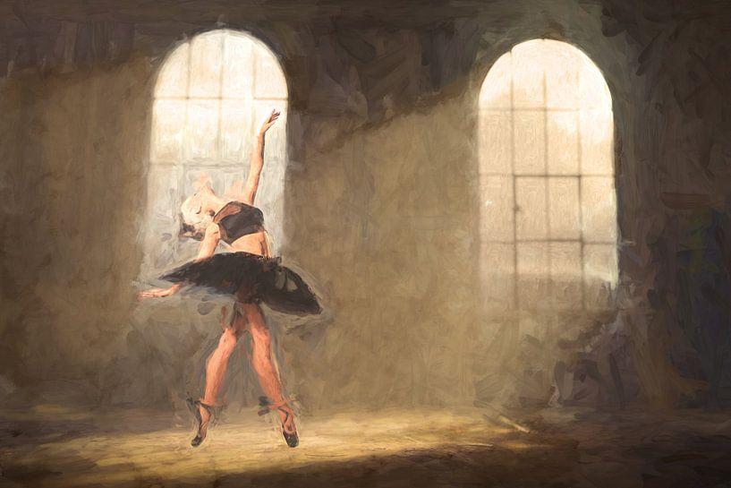 Gemaltes Urbex-Ballett von Arjen Roos