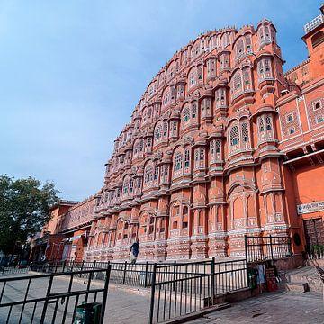 Jaipur: Hawa Mahal van Maarten Verhees