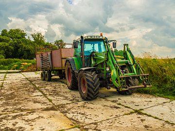 Tractor van Michel Aalders
