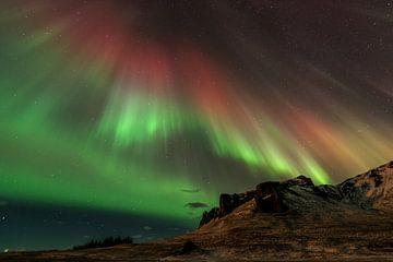 Aurora Borealis danst over het Firmament van