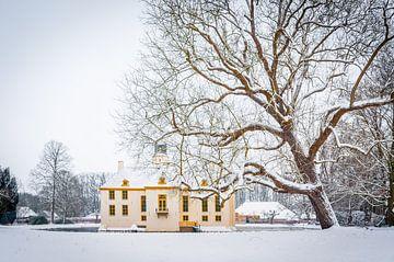 Fraeylemaborg im Schnee von Richard Janssen