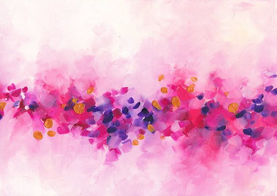 Cherry Flowers van Maria Kitano