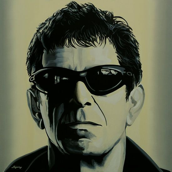 Lou Reed Schilderij