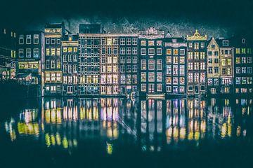 Amsterdam Damrak von Niels Barto
