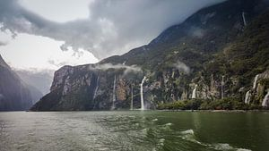 Fjorden in the Milford Sounds
