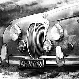 Mark II - Daimler 2,5 ltr V8 van Yvonne Blokland