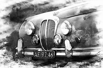 Mark II - Daimler 2,5 ltr V8 von Yvonne Blokland