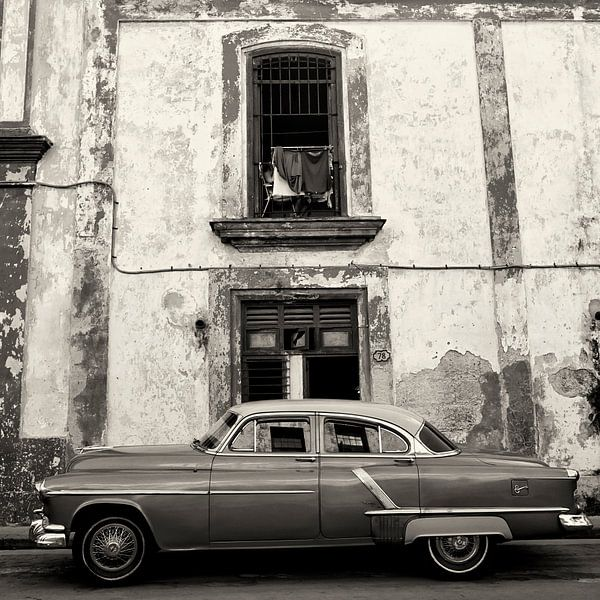Old American Car, La Habana van Cor Ritmeester