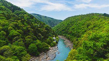 Landschap rivier - Totaal van Maikel van Maanen