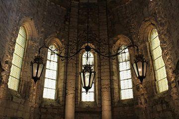 Offene Kirche in Lissabon von Berg Photostore