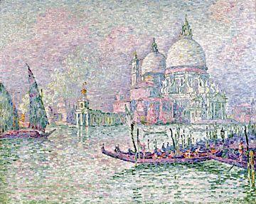 Venedig, der grüne Gruß, Paul Signac, 1908 von Atelier Liesjes
