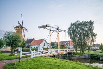 Brücke über den Leurse Haven von Egon Zitter