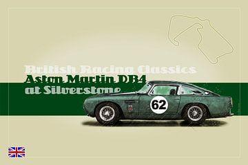 Aston Martin DB4 GT in Silverstone van Theodor Decker