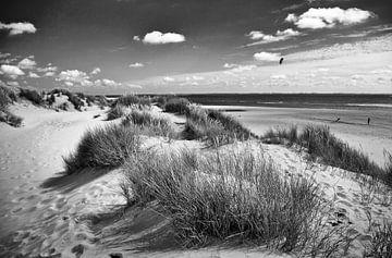 Vliegeren op de Maasvlakte von Peter Hofwegen