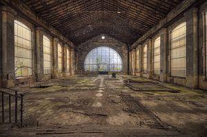 Urbex - Industrie oude fabriek van