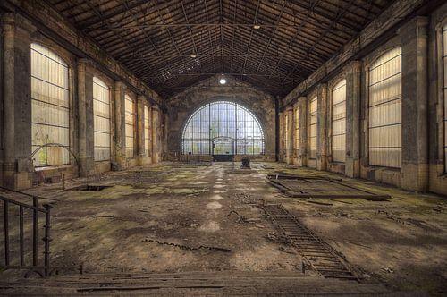 Urbex - Industrie oude fabriek von Angelique Brunas