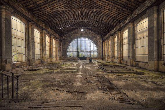 Urbex - Industrie oude fabriek van Angelique Brunas