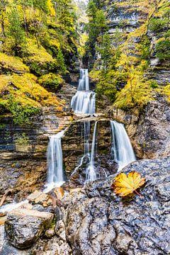 Wasserfall, Werdenfelser Land von Walter G. Allgöwer
