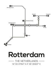 Rotterdamer U-Bahn-Linien