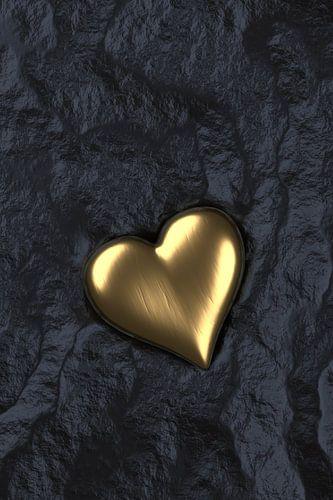 Herz aus Gold von