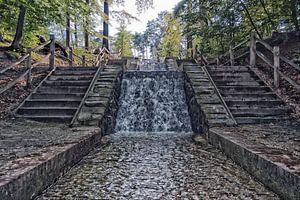 Watervallen van de Vrijenberger Spreng van
