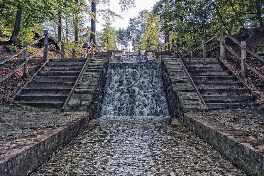 Watervallen van de Vrijenberger Spreng van Kevin Nugter
