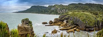 Bay zu dem Pancake Rock, Neuseeland von Rietje Bulthuis