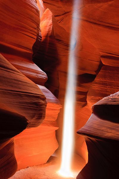 Lightbeam in Upper Antelope Canyon