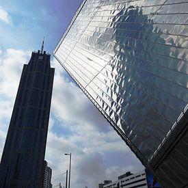 Nieuw Rotterdam CS vs The Manhattan Hotel van MoArt (Maurice Heuts)