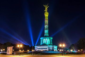 Colonne de la victoire Berlin sous un jour particulier sur Frank Herrmann