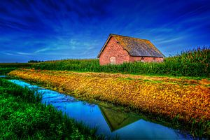 Hollands landachap van