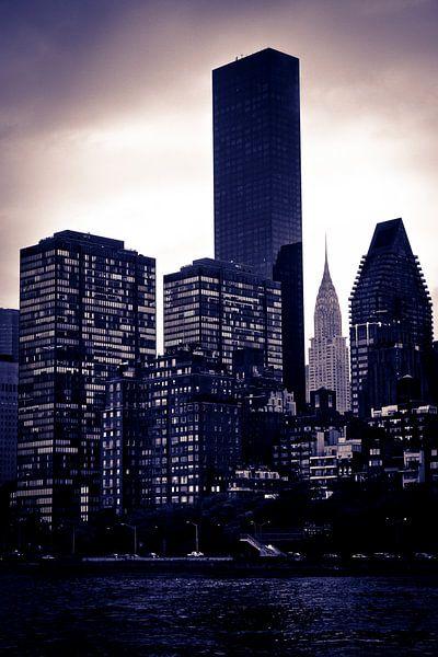 New York City Skyline van Maarten De Wispelaere
