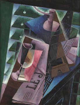 Juan Gris, Kaffeemühle und Glas - 1915 von Atelier Liesjes