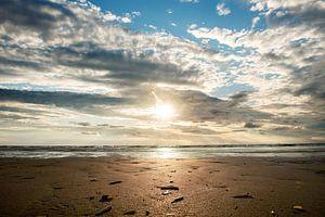 Sonnenuntergang am Strand von mandy vd Weerd