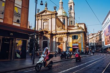 Mailand - Via Torino / Chiesa San Giorgio von Alexander Voss