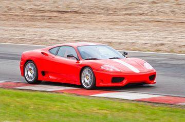 Ferrari 360 Modena Challenge Stradale mit schneller Fahrt von Sjoerd van der Wal