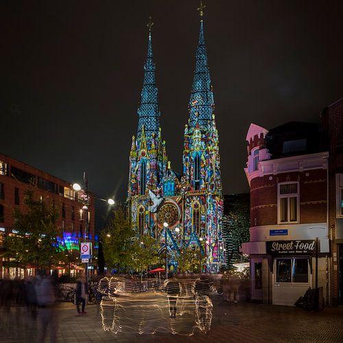 Sint Catharinakerk Eindhoven GLOW 2017 van