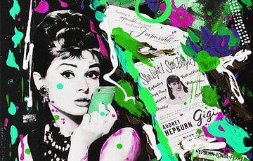 """Audrey Hebprun """"Telefon"""" von Kathleen Artist Fine Art"""