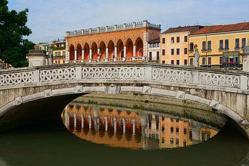 Brug in Padua sur Michel van Kooten