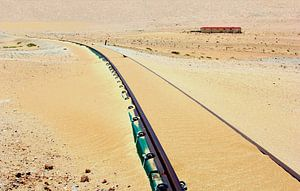 Geen treinen vandaag, zandstormen, Afrika